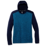 Brooks Dash Hoodie Men's Navy/Heather Azul