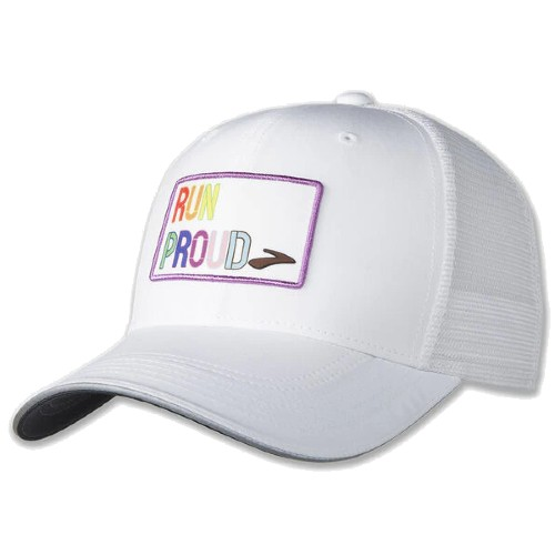 Brooks Discovery Trucker Hat Unisex Run Proud