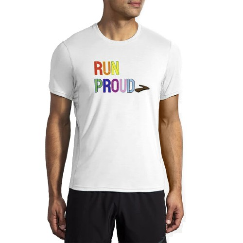Brooks Distance Graphic S/S Men's Run Proud