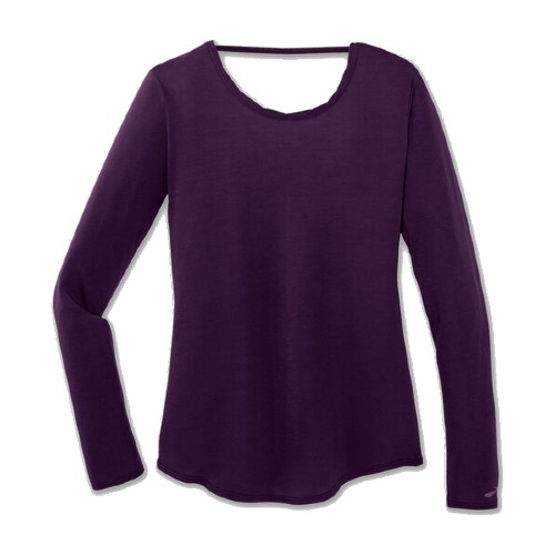 Brooks Distance L/S Women's Berry