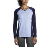 Brooks Distance Long Sleeve Women's Seaglass/Navy
