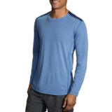 Brooks Distance Long Sleeve Men's Heather Bay/Navy