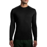 Brooks Distance Long Sleeve Men's Heather Black/Asphalt