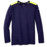 Brooks Distance Long Sleeve Men's Navy/Nightlife