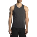 Brooks Distance Tank Men's Heather Black/Grey
