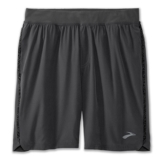"Brooks Equip 9"" Short Men's Asphalt/Black Static"