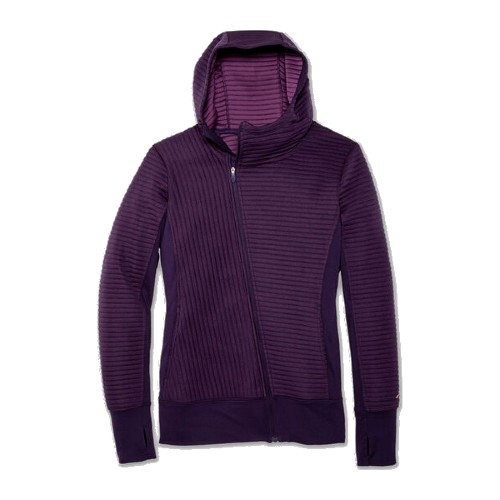 Brooks Fly-By Hoodie Women's Berry