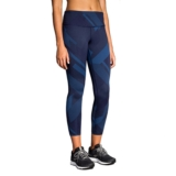 Brooks Formation Crop Women's Navy Eclipse Jacquard