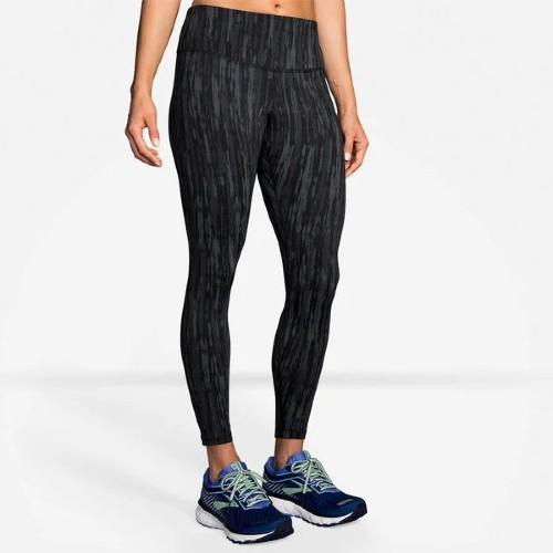 Brooks Formation Crop Women's Black Jacquard