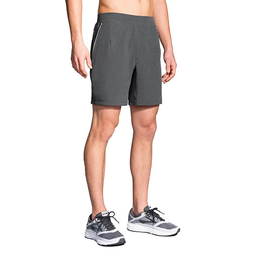 "Brooks Fremont 7"" Short Men's Asphalt"