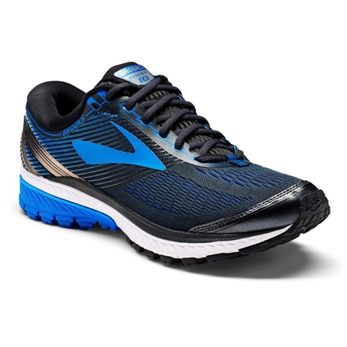 Brooks Ghost 10 Men's Ebony/Metallic Charcoal
