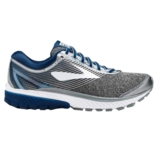 Brooks Ghost 10 Men's Silver/Blue/White