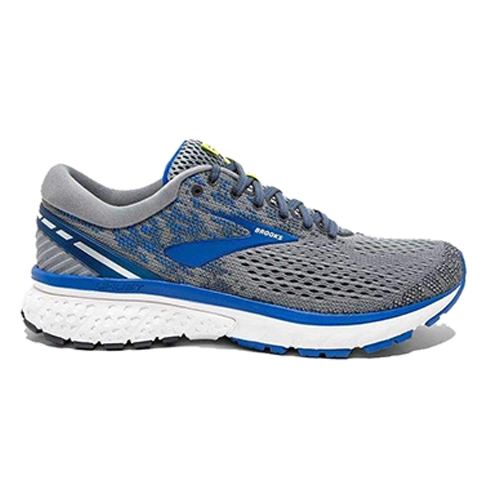 Brooks Ghost 11 Men's Grey/Blue/Silver - Brooks Style # 110288 2E 006 F18
