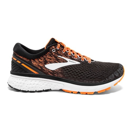 Brooks Ghost 11 Men's Black/Orange