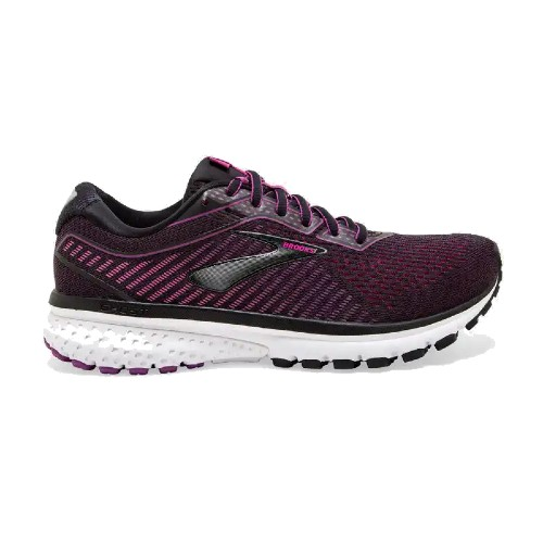 Brooks Ghost 12 Women's Black/Hollyhock/Pink