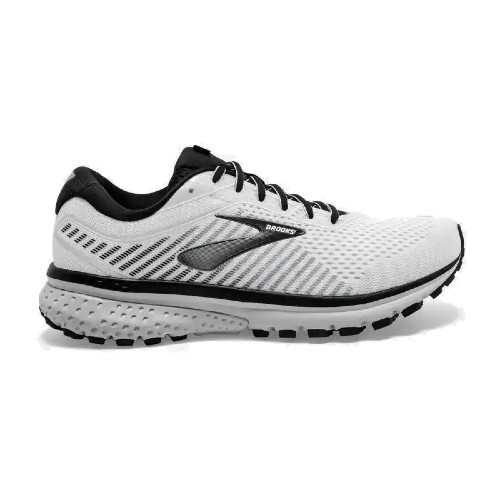 Brooks Ghost 12 Men's White/Grey/Black