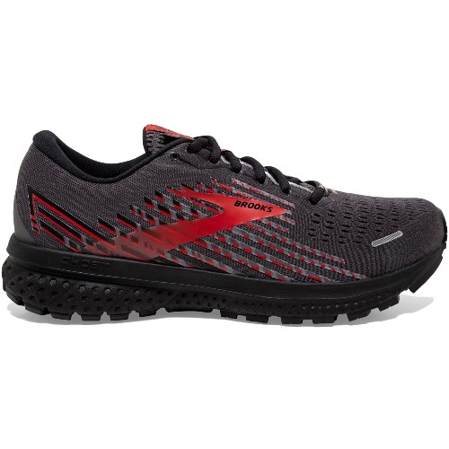 Brooks Ghost 13 GTX Men's Black/Ebony/Red