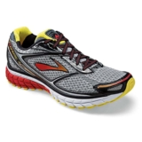 Brooks Ghost 7 Men's Silver/Black/Mars Red