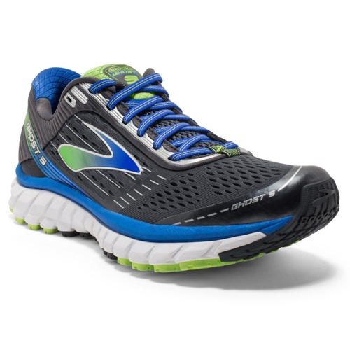 Brooks Ghost 9 Men's Athracite/Electric Blue