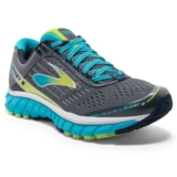 Brooks Ghost 9 Women's Silver/Blue Atoll/Lime