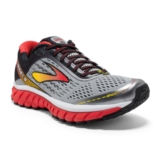 Brooks Ghost 9 Alloy/High Risk Red