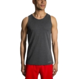 Brooks Ghost Tank Top Men's Heather Black