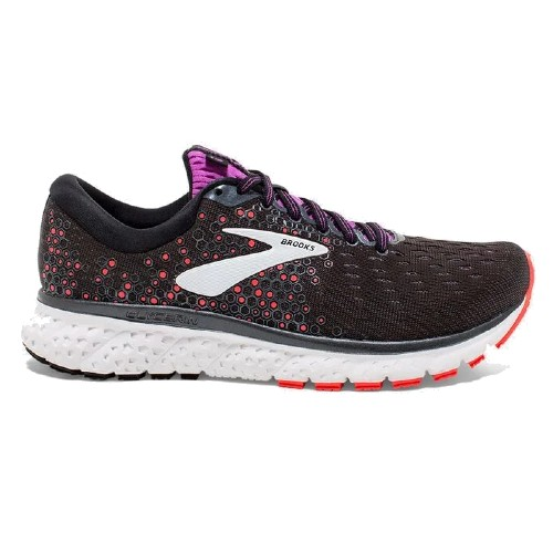 Brooks Glycerin 17 Women's Black/Fiery Coral