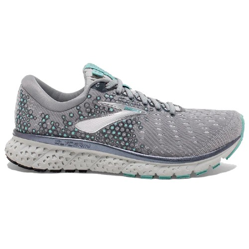 Brooks Glycerin 17 Women's Grey/Aqua/Ebony