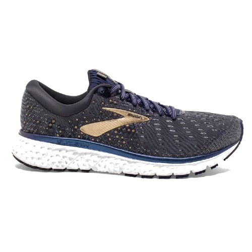Brooks Glycerin 17 Men's Grey/Navy/Gold