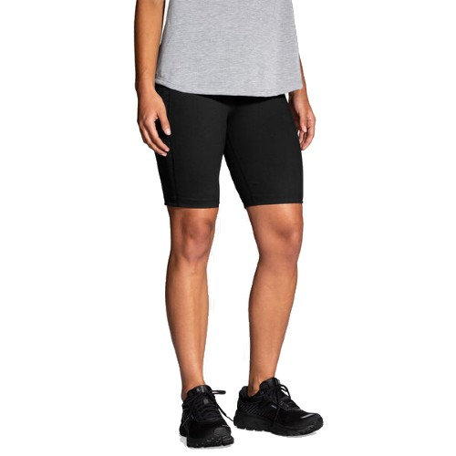 "Brooks Greenlight 9"" Short Women's Black"