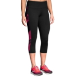 Brooks Greenlight Capri Women's Black/Plum Eclipse