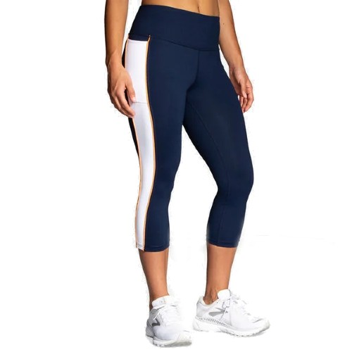 Brooks Greenlight Capri Women's Navy/White/Nectar