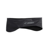 Brooks Greenlight Headband Unisex Black/Asphalt Stripe
