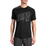 Brooks Heritage T-Shirt Men's Black/Asphalt
