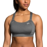 Brooks Juno Bra Women's Heather Asphalt