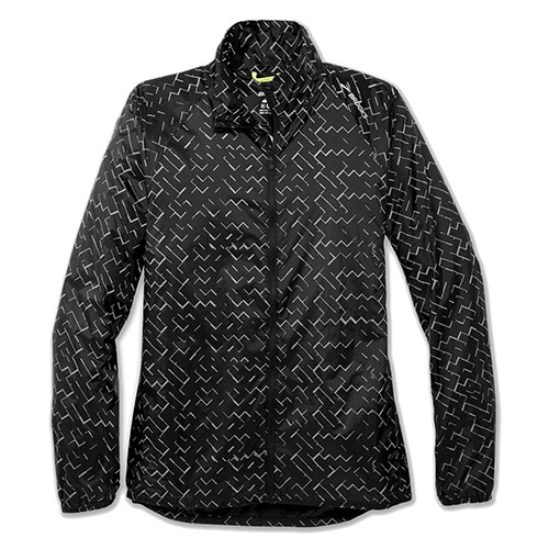 Brooks LSD Jacket Women's Black/Nebula Refective