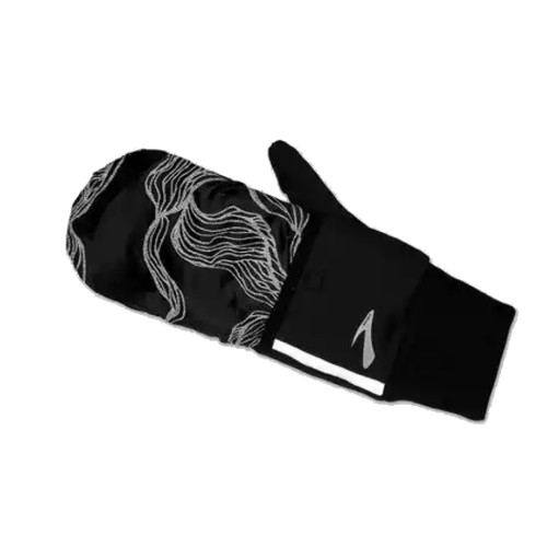 Brooks LSD Thermal Glove Unisex Black/Wave Reflective