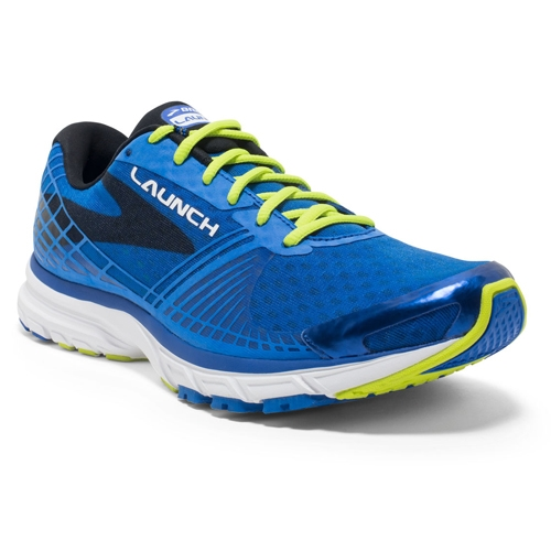 Brooks Launch 3 Men's Elelectric Brooks Blue - Brooks Style # 110215 1D 432 F16