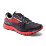 Brooks Launch 3 Men's Black/High Risk Red
