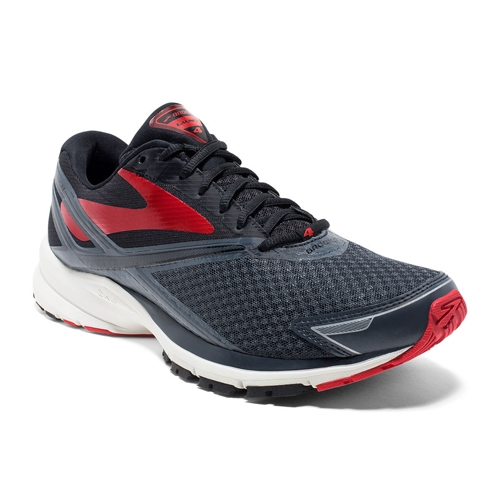Brooks Launch 4 Men's Anthracite/Black/Red - Brooks Style # 110244 1D 016  S17