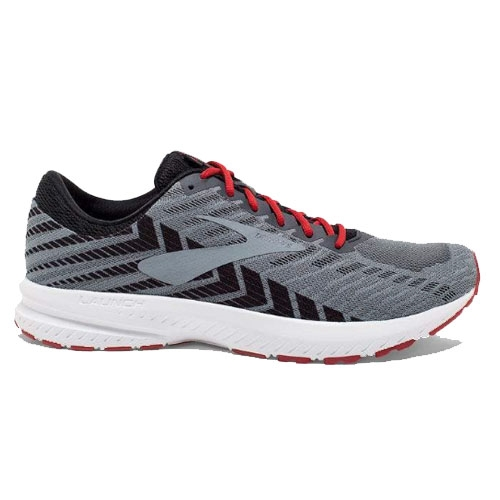 Brooks Launch 6 Men's Ebony/Black/Cherry - Brooks Style # 110297 1D 071 S19