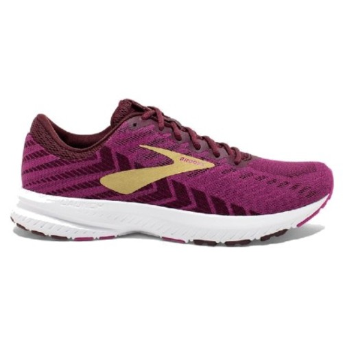 Brooks Launch 6 Women's Aster/Fig/Gold