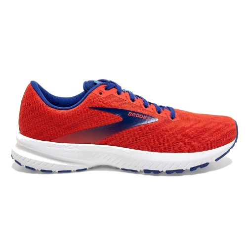 Brooks Launch 7 Men's Cherry / Red / Mazerine