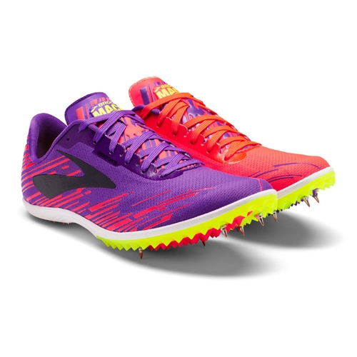 Brooks Mach 18 Women's Fiery Coral/Electric - Brooks Style # 120229 1B  626 F17