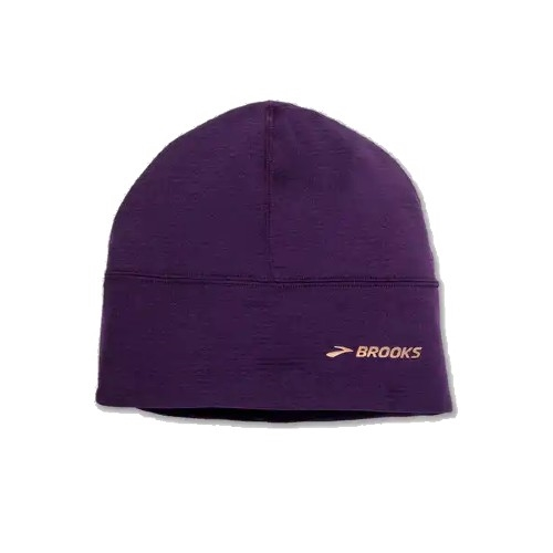 Brooks Notch Thermal Beanie Unisex Heather Berry