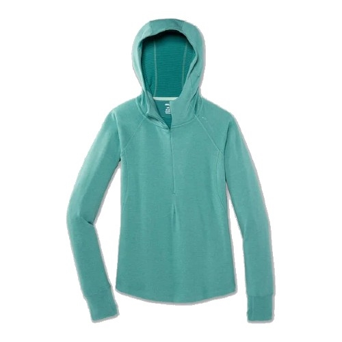 Brooks Notch Thermal Hoodie Women's Heather Teal