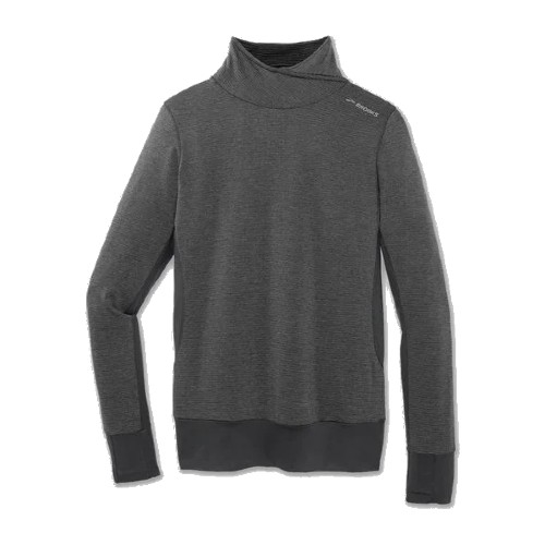 Brooks Notch Thermal L/S Women's Heather Asphalt