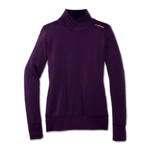 Brooks Notch Thermal L/S Women's Heather Berry