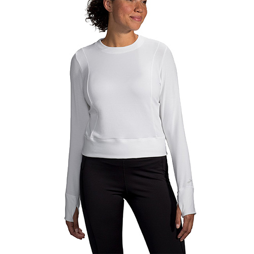 Brooks Notch Thermal L/S Women's White
