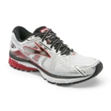Brooks Ravenna 6 Men's White/High Risk Red